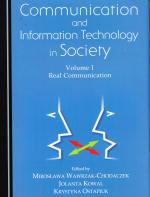 Communication and information technology in Society. Vol. 1
