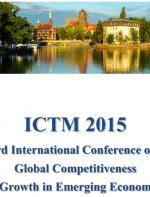 ICTM 2015 Proceedings of the Third International Conference on ICT Management for Global Competitiveness and Economic Growth in Emerging Economies ICTM 2015 Conference Theme: Socio-economic sciences and challenges of modern technology and planetary commun
